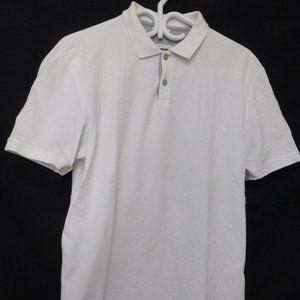 CALVIN KLEIN, white, pima cotton, medium, preloved